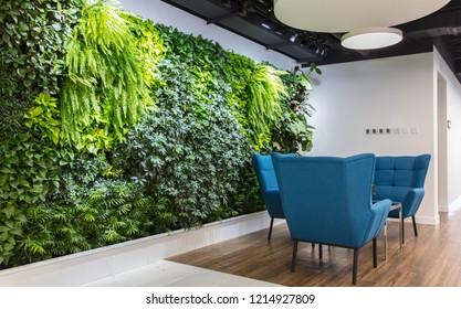 Comfortable office front desk negotiation area