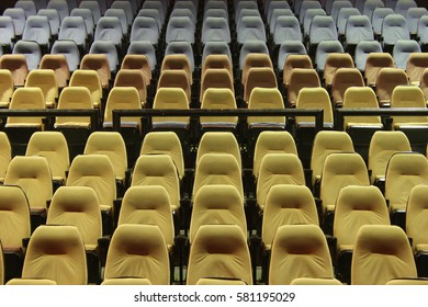 Comfortable place in a large cinema