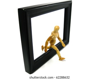 Coming off the frame