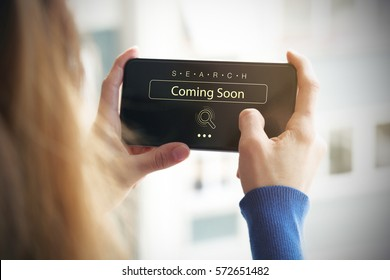 Coming Soon, Business Concept
