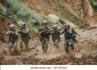 command rangers during the military operation