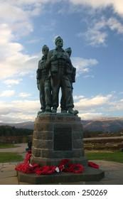 Commando memorial, Spean Bridge,  Scotland