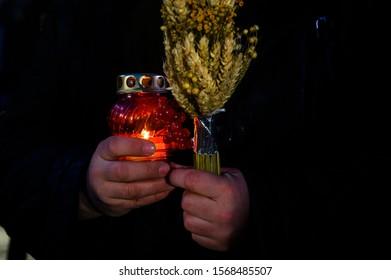 Commemoration of the victims of the Holodomor in Ukraine, Kiev November 23, 2019