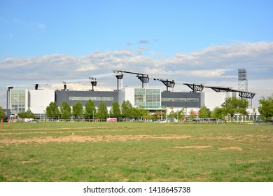 COMMERCE CITY, CO, USA - June 4, 2019: Dick's Sporting Goods Park is home to the Colorado Rapids professional soccer team.