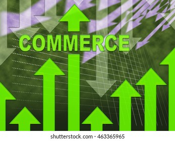 Commerce Graph Meaning Purchasing Purchases And Graphs