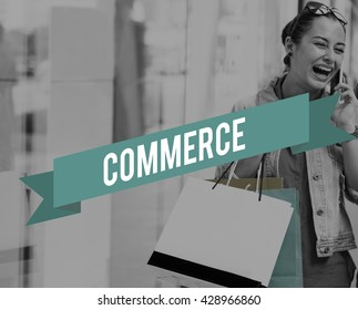 Commerce Marketing Retail Sale Service Concept