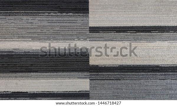 Commercial Carpet Tiles Grey White Black Stock Photo Edit Now 1446718427
