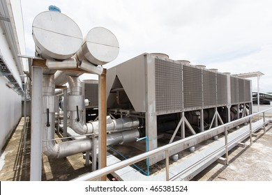 Commercial cooling HVAC air conditioner condenser fan units