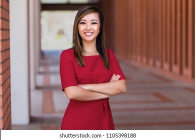 Commercial headshot of a young driven multiethnic female business professional executive entrepreneur