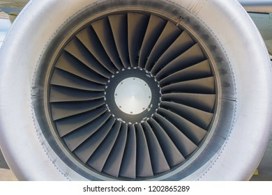 Commercial Jet Engine.