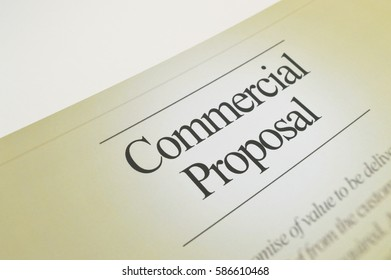 Commercial proposal.