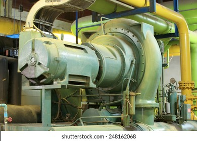 Commercial water chiller , centrifugal chiller , centrifugal compressor
