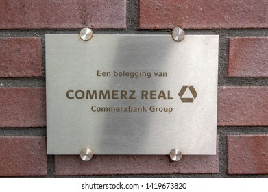 Commerz Real Sign On A Building At Amstelveen The Netherlands 2019
