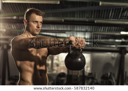 hot men working out