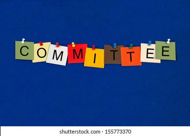 Committee - Business Sign Series - for business and committee meetings, organizations and commerce.