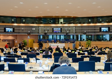 Committee meeting, inquiry of electronic mass surveillance at European parliament - BRUSSELS, DECEMBER 18, 2013