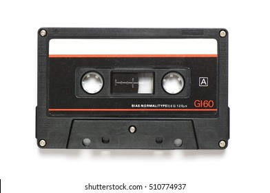 Common audio cassette with a 60-minute playing time