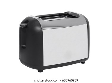 Common toaster isolated on white.