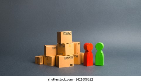 Communication between the buyer and the seller, or between the manufacturer and the retailer. Discussion of the terms of the transaction, the purchase of goods and services. Business and commerce.