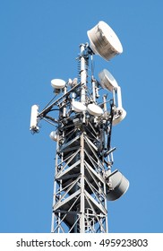 Communication cell tower for wireless technology: Gsm, Hsdpa, Umts, Gprs, Edge, Hsupa.