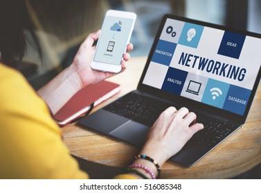 Communication Connection Idea Technology Concept