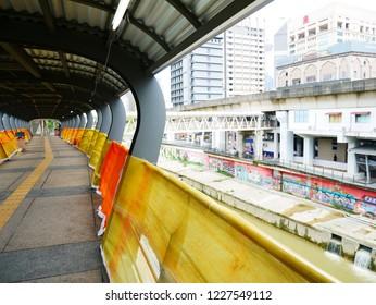 Communication passage in Kuala Lumpur, Malaysia