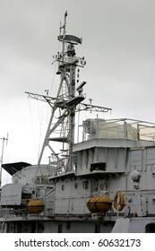 Communication tower in battleship