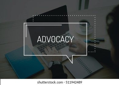 COMMUNICATION WORKING TECHNOLOGY BUSINESS ADVOCACY CONCEPT