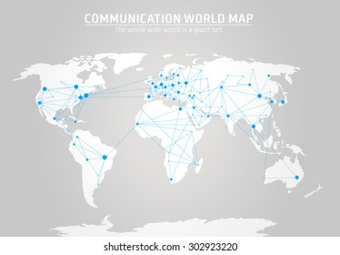 Cool vector abstract world map background vectores en stock cool vector abstract world map background vectores en stock 392320753 shutterstock gumiabroncs Choice Image