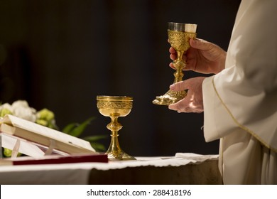 communion in a church
