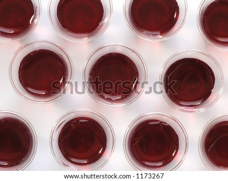 Communion Cups On White Background Stock Photo (Edit Now
