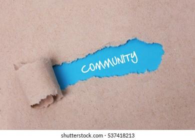 Community, Business Concept