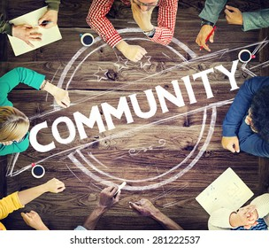 Community Citizen Diversity Connection Communication Concept