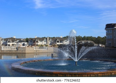Community pond, cary, NC