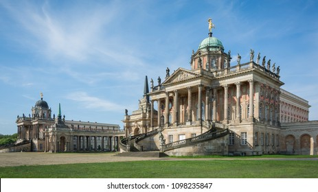 The Communs, University of Potsdam, Potsdam, Germany with beautiful sky