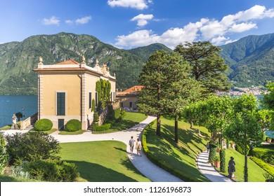 [COMO - 24 June 2018] Italy, Lombardy, Como district. Como Lake, Villa del Balbianello