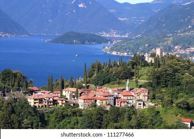 Como lake  Vezio Castle
