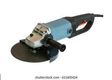 Compact blue grinder