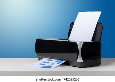 Compact laser home printer