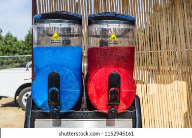 Compact Twin Slush Machine can provide your customers with two delicious flavours
