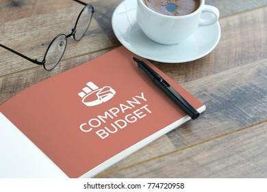 COMPANY BUDGET CONCEPT