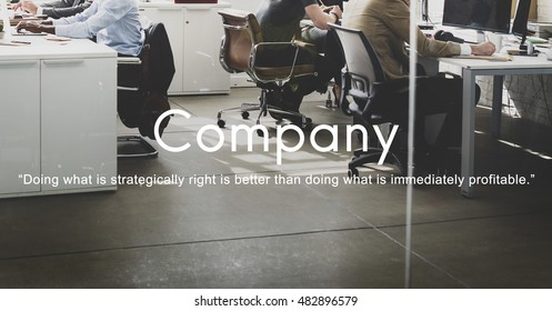 Company Business Collabration Corporate Team Concept