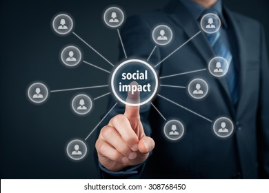 Company improve its social impact (work on influence marketing).