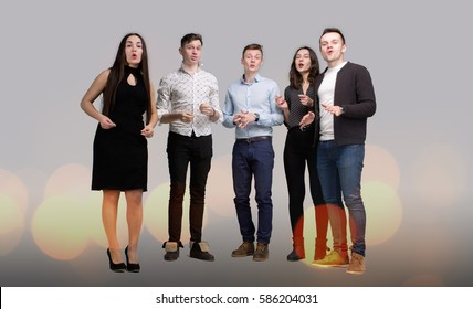 The Company of Young People Singing