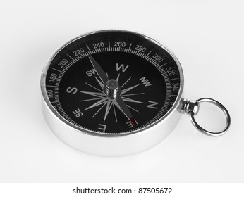 Compass isolated on white backgroun