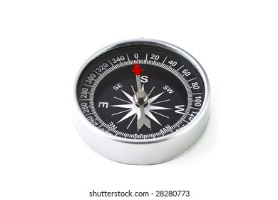 Compass isolated on white background