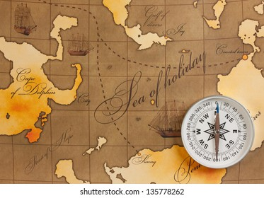 compass on amap