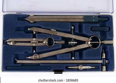 Compass set tools circle