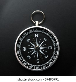 compass showing the right direction in business and finance