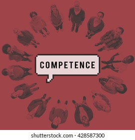 Competence Ability Skills Talent Experience Performance Concept